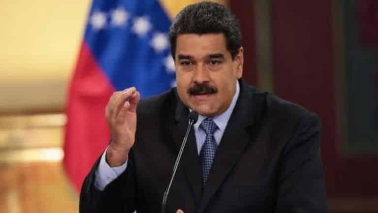 Maduro dice que el coronavirus convierte a EEUU en un peligro