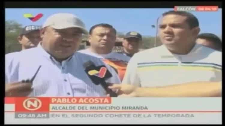 Alcalde chavista de Coro celebraba con presunto narco detenido en Punto Fijo