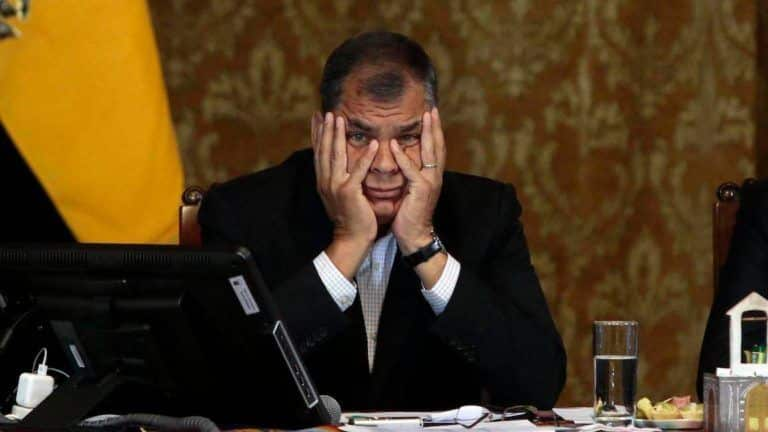 Ecuador condenó al Expresidente Rafael Correa a 8 años de cárcel por corrupción