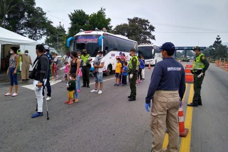 Atencion, Migración Colombia confirma que al menos 600 venezolanos están regresando al país