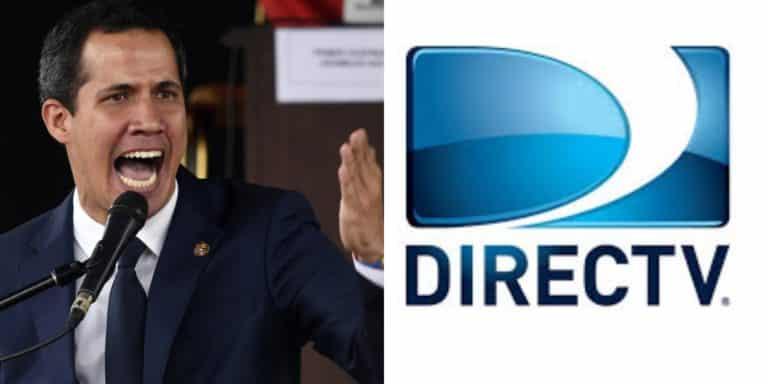 Juan Guaidó se pronuncia sobre caso de DirecTV