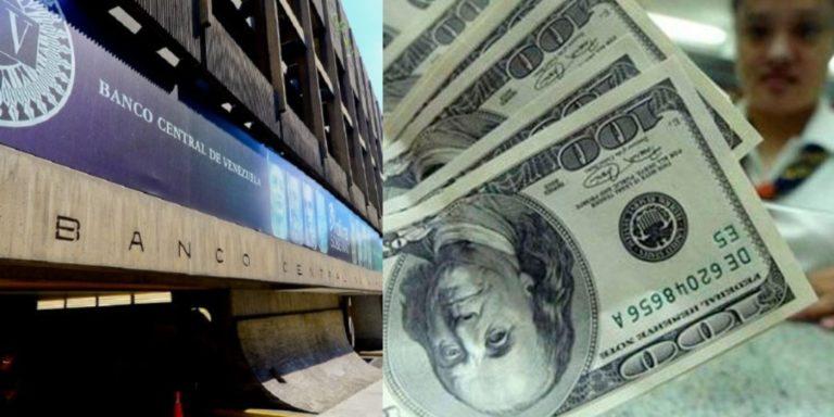 Banco Central de Venezuela solicita a bancos inyectar divisas por venta de gasolina a mercado cambiario