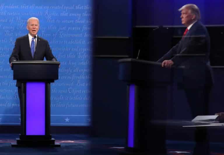 Debate presidencial: Trump asegura en que habrá vacuna anticovid-19 en cuestión de semanas