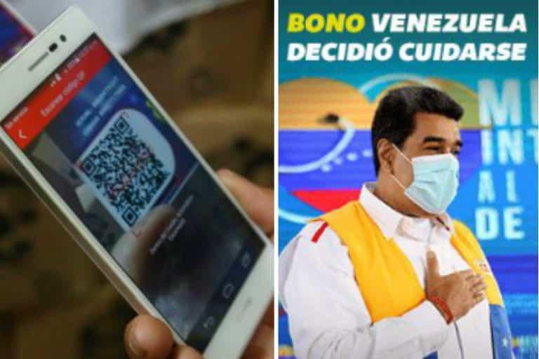 Empezó entrega del bono «Venezuela decidió cuidarse» a través del sistema patria