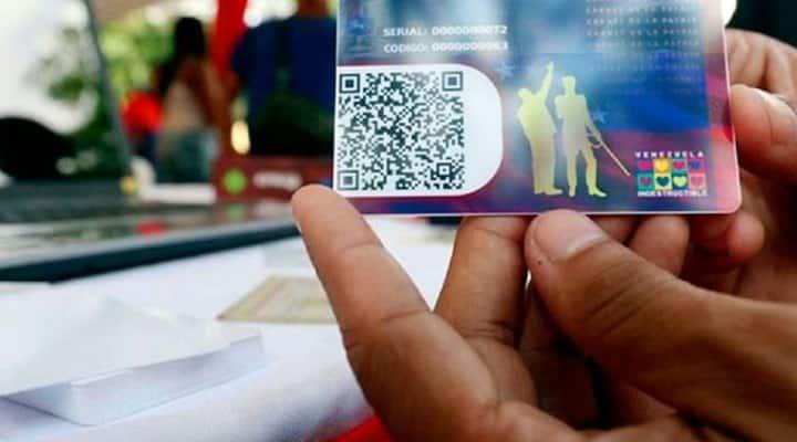 Carnet de la Patria anunció retroactivo para todos los Bonos de Protección Social