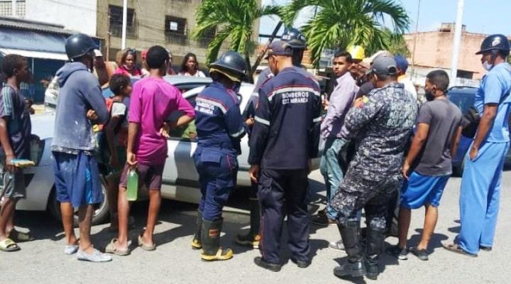 Falleció coronel retirado del Ejército en una cola por gasolina en Higuerote