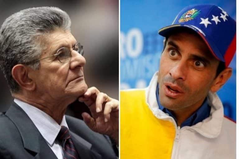 """La punta que los adecos le arremetieron a Capriles sobre la reforma del Estatuto de la Transición: """"Es el único que exige cambio"""""""