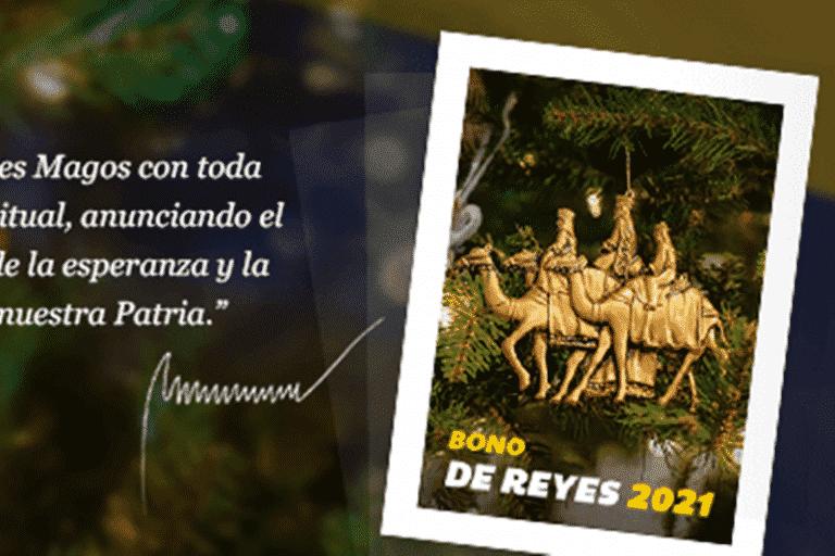 El nuevo bono que comenzó a entregar el gobierno de Reyes 2021 (+Monto)