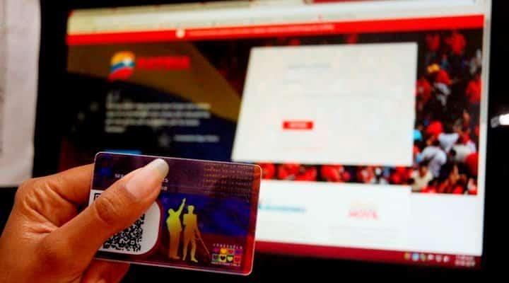 Carnet de la patria anuncia entrega del primer bono del mes de febrero