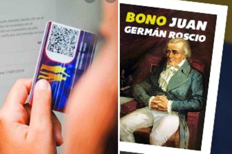 Gobierno inicia entrega del bono Juan Germán Roscio por medio del sistema patria (+El monto)