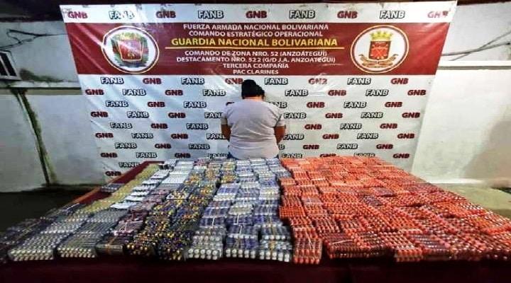 Anzoátegui: GNB detiene en Clarines a mujer con contrabando de medicinas
