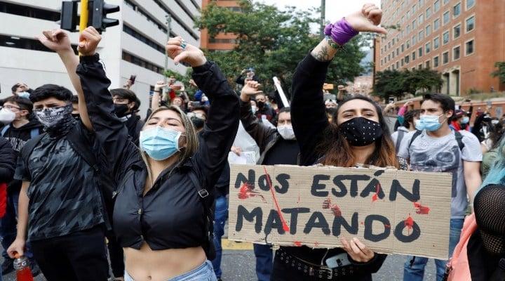 Colombia un mes de protestas con saldo de 59 muertes y 346 desaparecidos