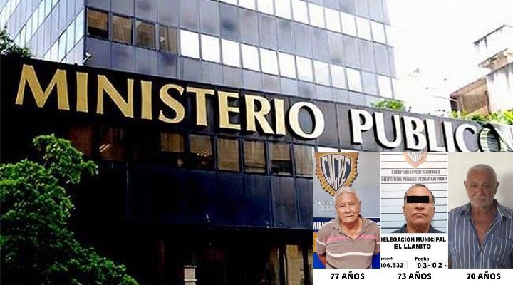 Ministerio Público imputa a tres septuagenarios por abuso s3xu4l de infantes (Imagenes)