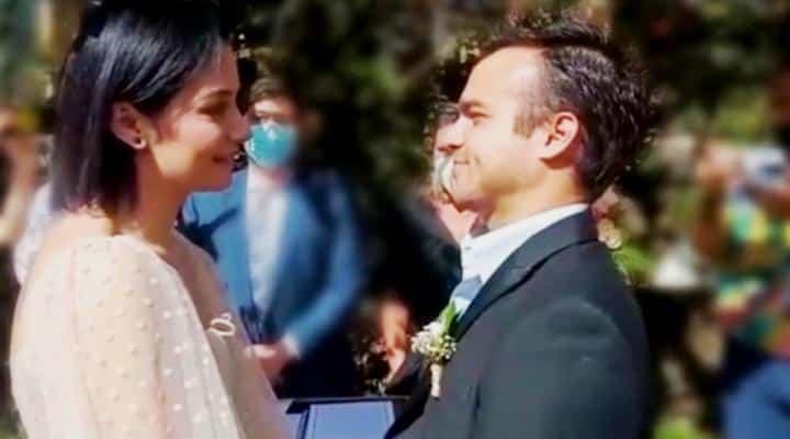 Daniela Alvarado y José Manuel Suárez se casaron