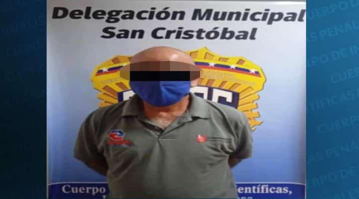 Táchira: Detienen en Tucapé a un hombre por supuestamente abusar de su hijo