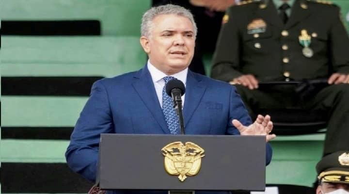 """Duque condiciona la """"donación"""" a Venezuela a salida de Maduro (Video)"""