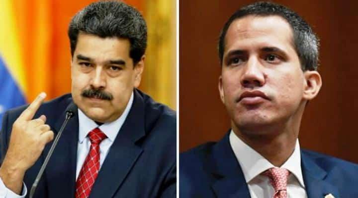EEUU instó a Guaidó a negociar con el gobierno de Nicolás Maduro