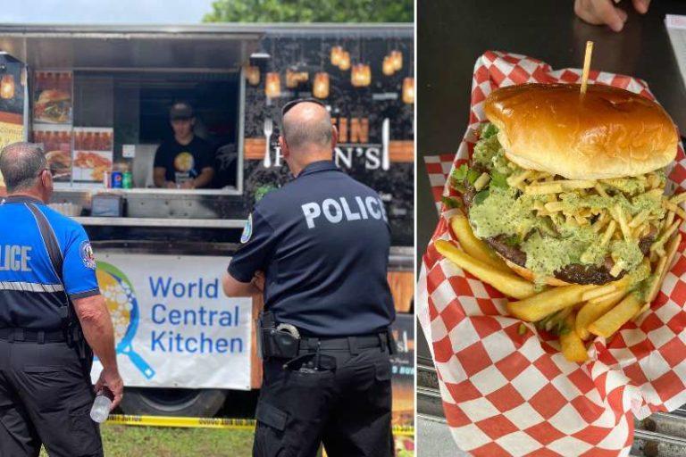 El chef José Andrés y su organización sirven comidas a los rescatistas en edificio que se derrumbó en Miami (+Detalles)