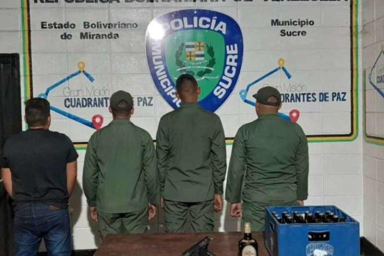 Detenidos 3 sargentos de la GNB y un conductor por ingerir bebidas alcohólicas, y d1sp4rar en elelevado de Palo Verde (+Detalles)