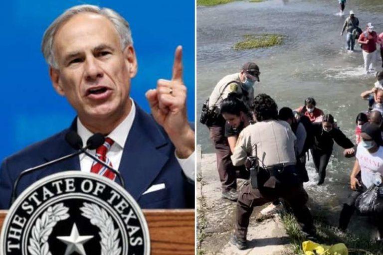 Gobernador Greg Abbott, con arrestar a migrantes que ingresen ilegalmente a Texas por la frontera (+Detalles)
