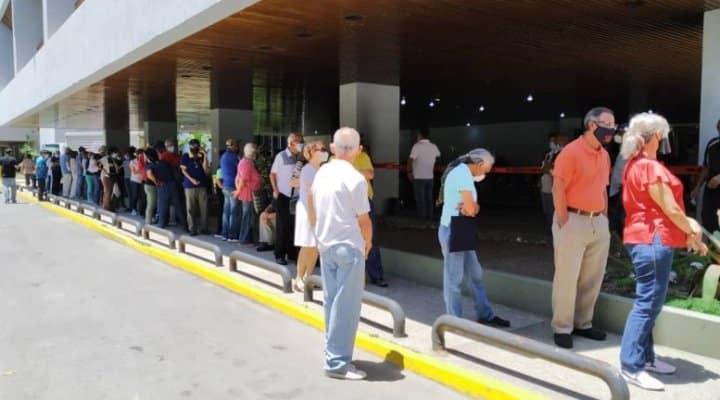 Presos 5 empleados del hospital Egidio Montesinos de la población El Tocuyo en Lara por vender cupos para vacunación