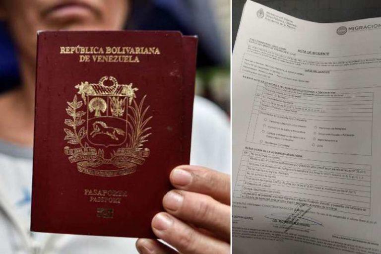 """Denuncian que venezolana fue deportada y maltratada al intentar entrar a Argentina: """"Deberías irte a Venezuela de una vez"""" (+Detalles)"""