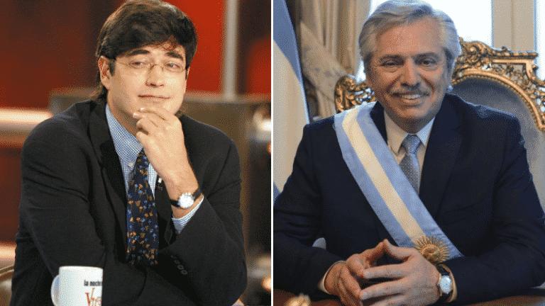 """Jaime Bayly se las cantó a Alberto Fernández tras controvertidas declaraciones: """"Es un carnicero, un matarife verbal"""" (+Vídeo)"""
