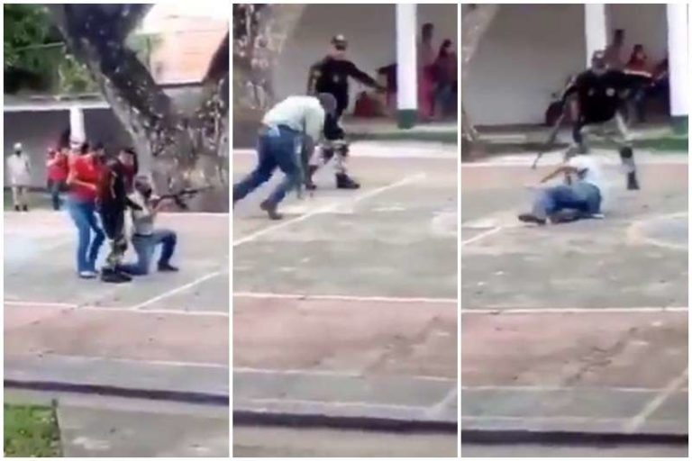 La práctica de los milicianos del gobierno por la conmemoración de la Batalla de Carabobo (+Vídeo)