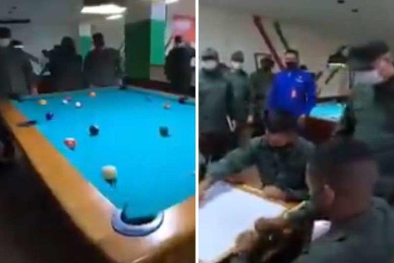 """Padrino López estreno sala de """"esparcimiento"""" para la GNB en la Academia Militar (+Vídeo)"""