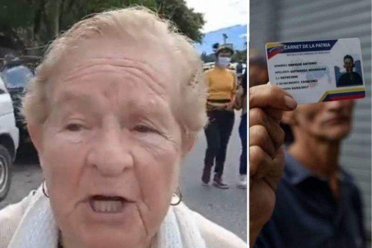 """Negaron vacuna a una señora de 91 años en Mérida por no tener carnet de la patria: """"Me dijeron, 'no se puede vacunar'"""" (+Video)"""