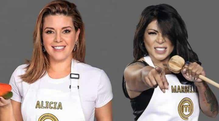 El toma y dame entre Alicia Machado y la cantante colombiana Marbelle