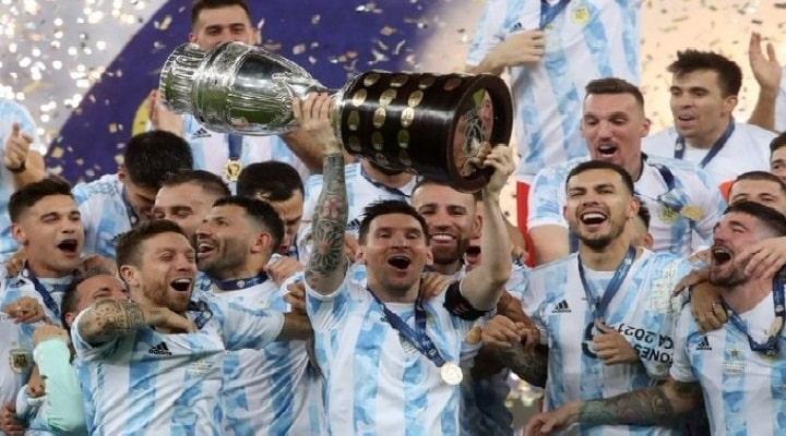 Copa América: Argentina campeona gana 1-0 a Brasil