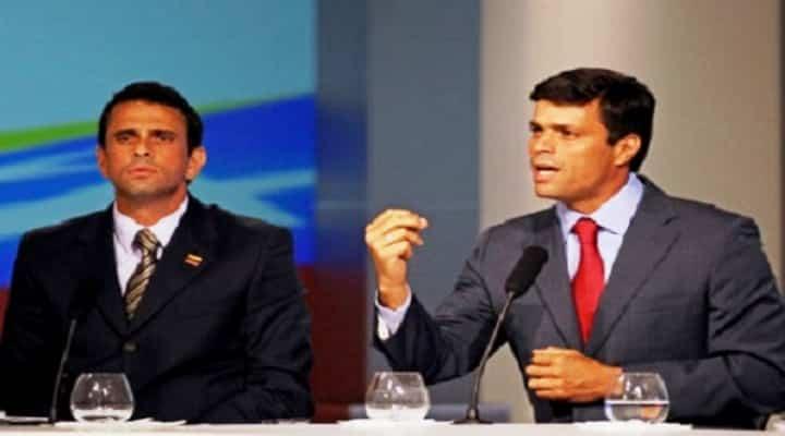 Leopoldo López cargó contra Capriles: «Espero que no seas una foca ni te arrodilles ante Maduro»