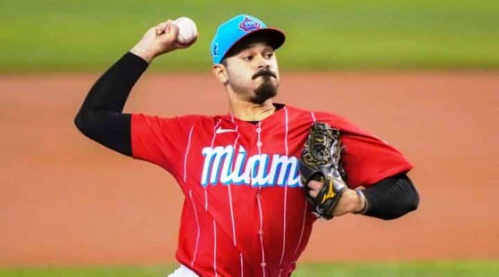 Cabimense Pablo López, estableció nuevo récord en la MLB con 9 ponches seguidos para iniciar un partido