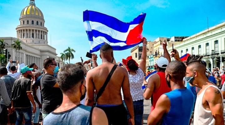Protestas en Cuba: las fotos de la histórica manifestación contra el Gobierno