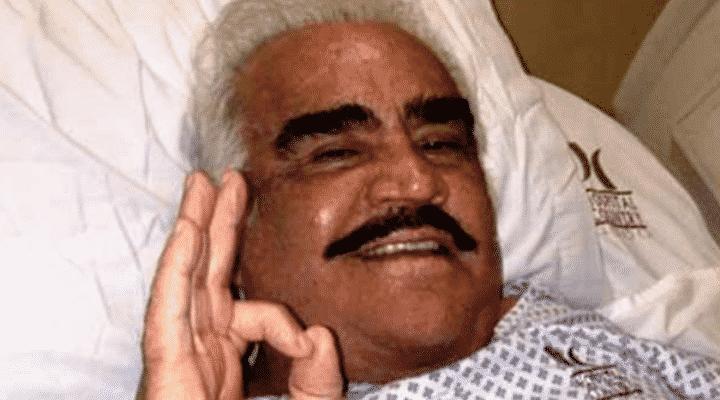 Hospitalizan de emergencia a Vicente Fernández