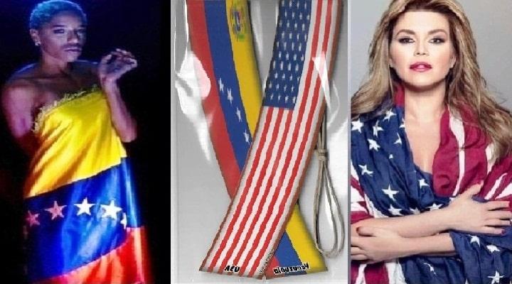 Yulimar Rojas y Alicia Machado: una orgullosa de su país la otra orgullosa de vivir en Estados Unidos