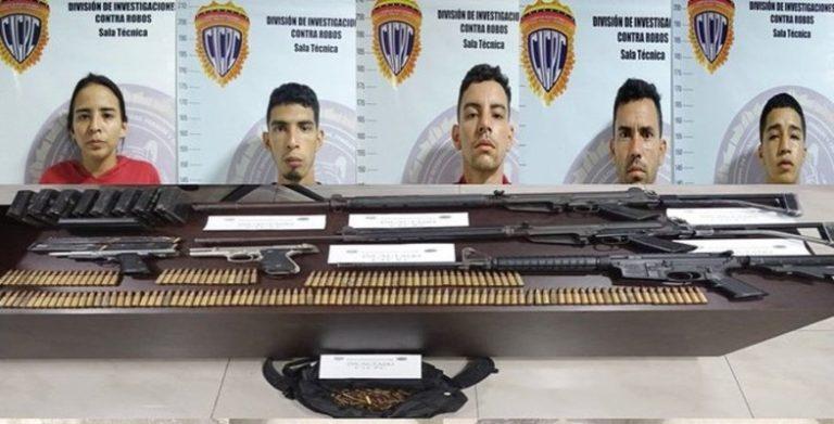 Cicpc confirmó la detención de sujetos de la banda del Coqui en El Cementerio (+Detalles)
