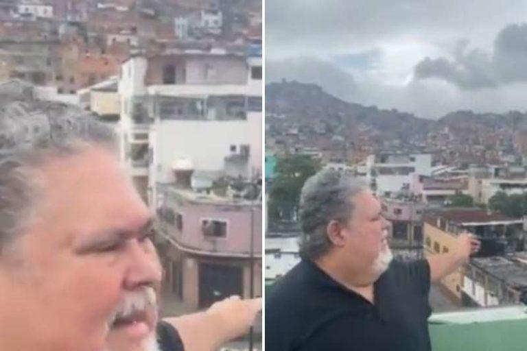 """Juan Barreto asegura que es uno de los afectados, por el apagón en El Cementerio: """"Se me va a podrir la proteína que tengo en la nevera"""" (+Reacciones)"""