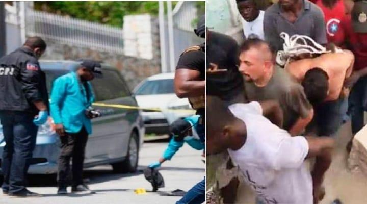 Ciudadanos arrestan a presuntos implicados en magnicidio en Haití