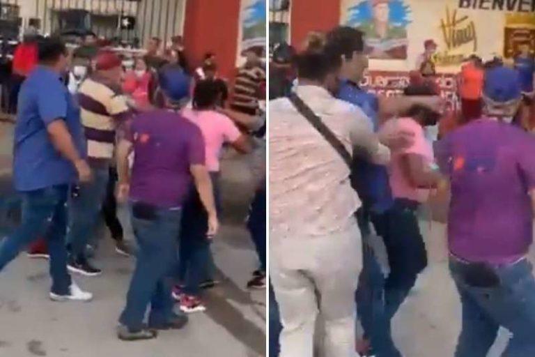 Registran enfrentamientos y agresiones entre facciones del PSUV y colectivos armados en Barinas (+Videos)