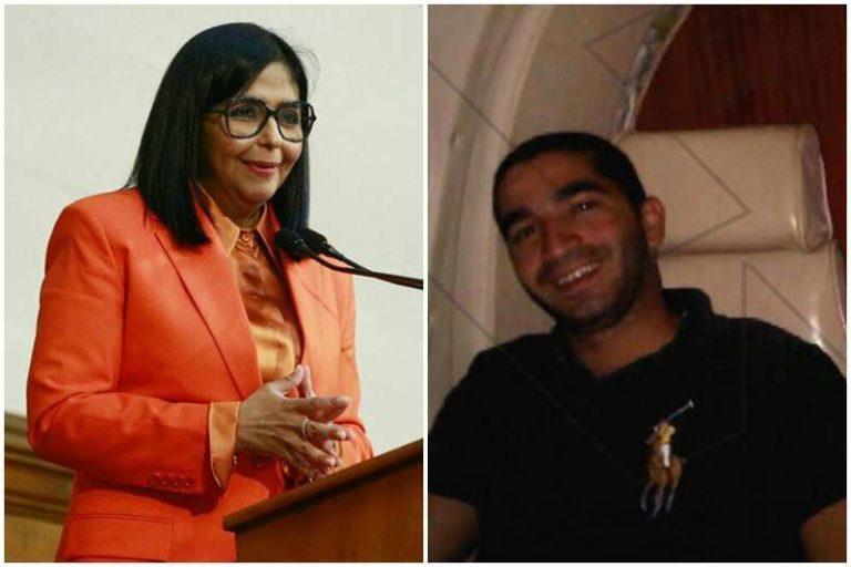 Delcy Rodríguez benefició con contratos a su pareja sentimental, jefe de un clan libanés que controla decenas de empresas (+Detalles)