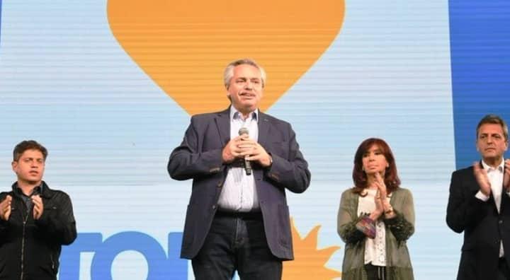 El Presidente de Argentina Alberto Fernández reaccionó tras la derrota en las primarias