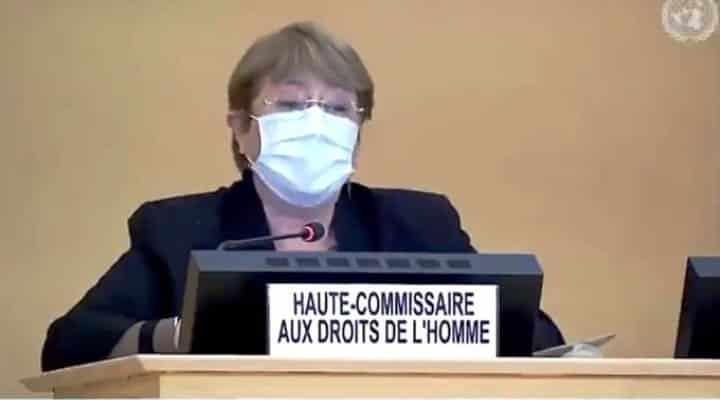 Bachelet apoya diálogo en México y reconoce daños de medidas coercitivas de EE.UU.
