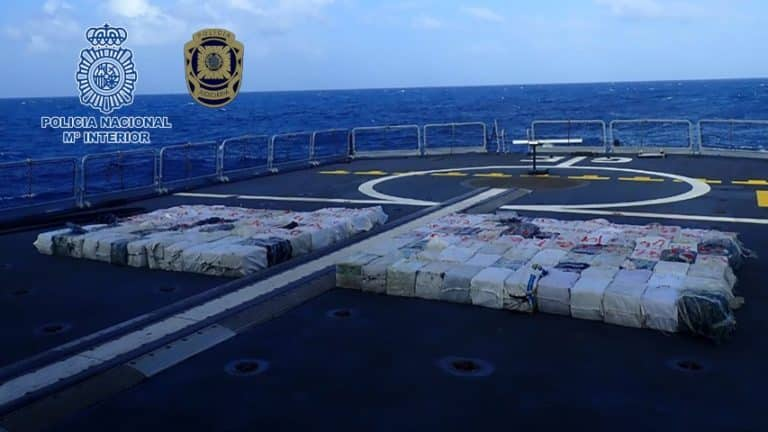 Capturan en España un pesquero con 4 toneladas de c0c4ín4 procedente de Venezuela (+Detalles)
