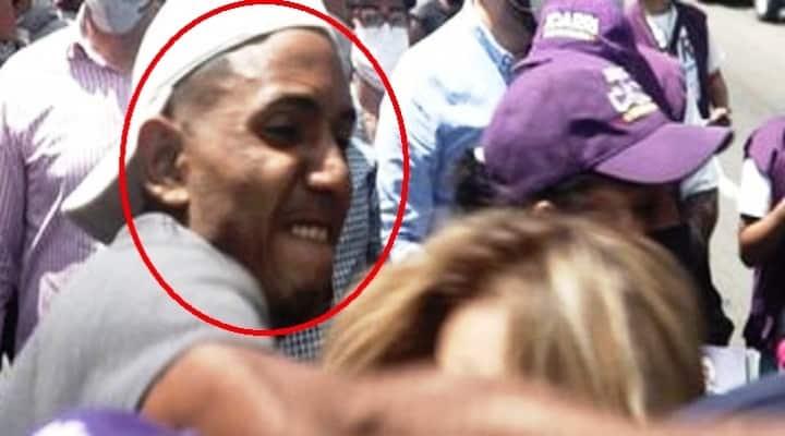4gr3di3r0n a mujeres durante acto político en Caracas (Fotos y Videos)