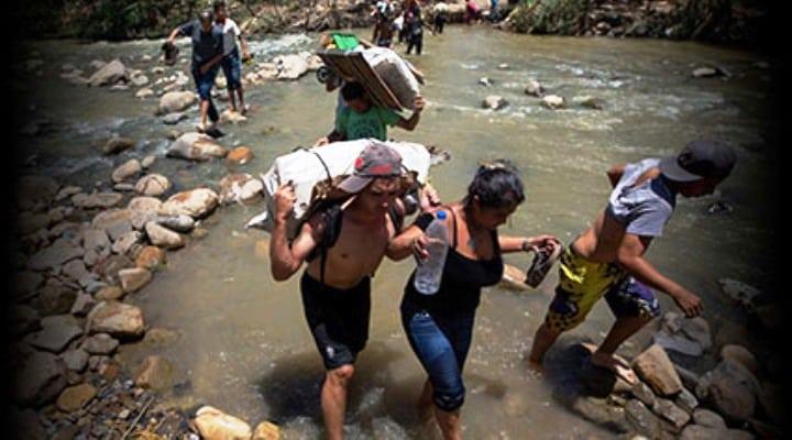 Conmoción en la frontera con Colombia: Muere ahogado trochero venezolano