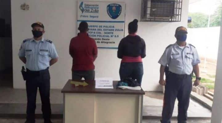 Municipio Miranda: Detienen a pareja señalada de asesinar a un sujeto en una situación de «crimen pasional»