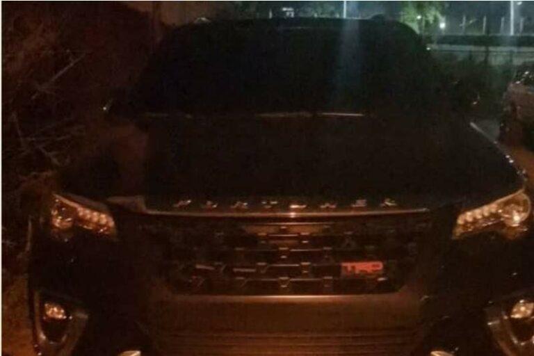 Localizaron en Fuerte Tiuna, camioneta robada a hombre que fue secuestrado en Las Mercedes por 4 oficiales de la PNB (+detalles)