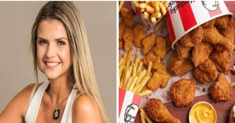 """Critican a Patricia Schwarzgruber, por hacerle publicidad a KFC pero le dice a sus hijos """"Las papas no se tocan"""" (+Vídeo +Reacciones)"""